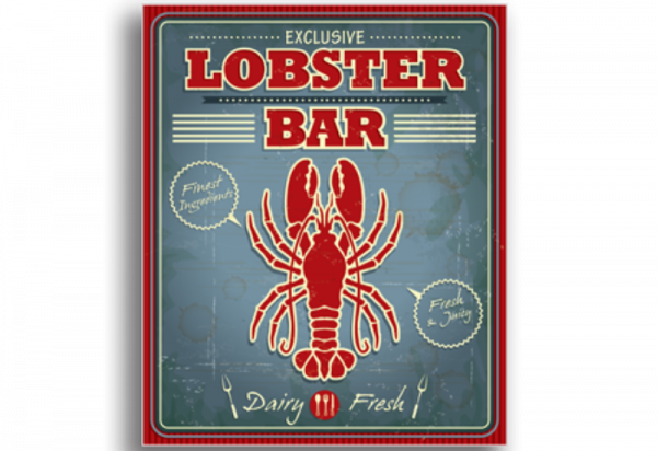 Tablou lobster bar, Printly