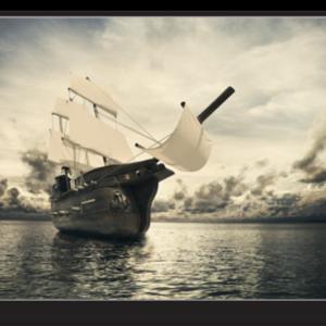 Tablou old sailing ship, Printly