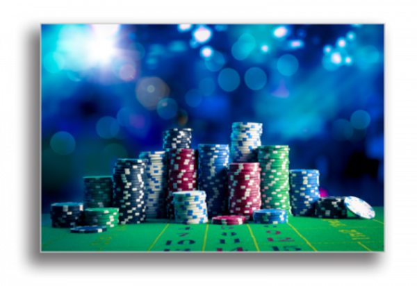 Tablou poker chips, Printly