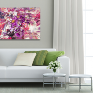 Tablou purple and white, Printly
