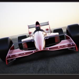 Tablou race car, Printly