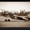 Tablou avion vintage, Printly