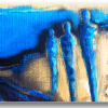 Tablou siluete umane, Printly