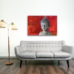 Tablou statueta buddha, Printly