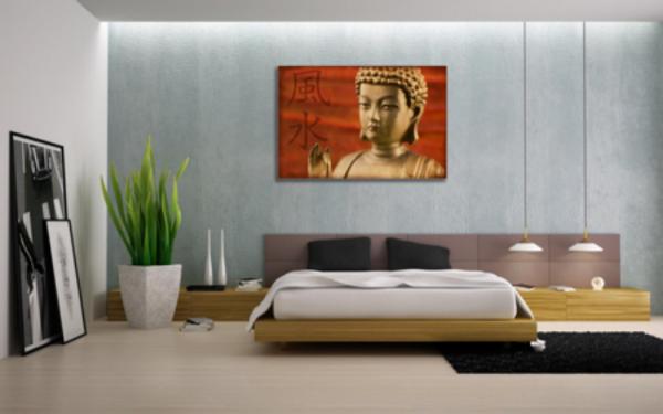 Tablou statueta buddha 2, Printly