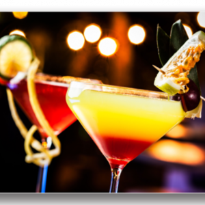 Tablou tequila sunrise, Printly