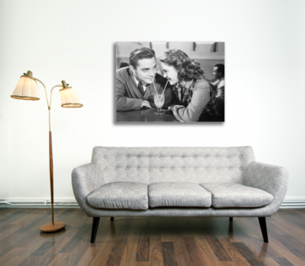Tablou vintage couple, Printly