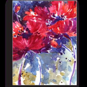 Tablou watercolor flowers, Printly
