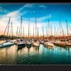 Tablou yachts at sunset, Printly