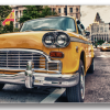 Tablou new york cab, Printly