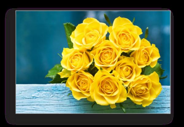 Tablou yellow roses, Printly